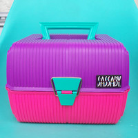 Vintage Sassaby  Cosmetic / Crafters Case