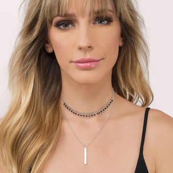Tinley Layered Choker Necklace