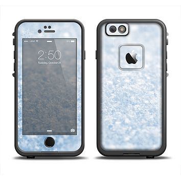 The Sparkly Snow Texture Apple iPhone 6/6s LifeProof Fre Case Skin Set