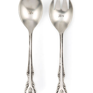 Mr. and Mrs. Serving Utensil Set