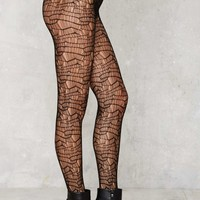 Look From London Rihanna Fishnet Tights