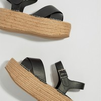 Truffle Collection Flatform Sandals at asos.com