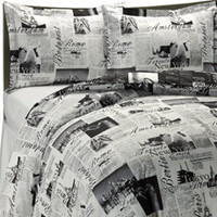 Passport Reversible Duvet Cover Sets, 100% Cotton - Bed Bath & Beyond
