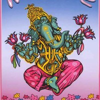 Namaste Bitches Inspiration Humor Poster 24x36