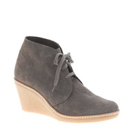 MacAlister wedge boots - boots - Women's 25% off shoes, boots, bags - J.Crew