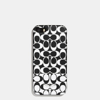 BLEECKERiPhone 5 casein colorblock signature print