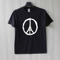 Pray for Paris - Peace for Paris Shirt T Shirt Tee Top TShirt – Size XS S M L XL