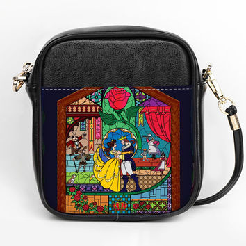 Beauty and the Beast Crossbody