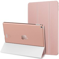 JETech iPad Air 2 Case Slim-Fit Smart Case Cover for Apple iPad Air 2 Second Edition w/Auto Sleep/Wake (Rose Gold) - 3040D