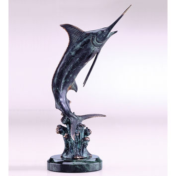 SPI Home Collection Hunting Marlin Sculpture