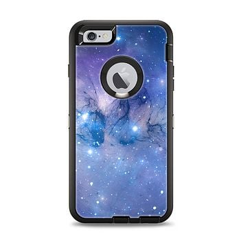 The Blue & Purple Mixed Universe Apple iPhone 6 Plus Otterbox Defender Case Skin Set