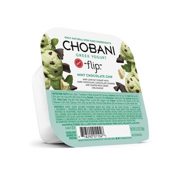 Chobani Flip® Mint Chocolate Chip Low-Fat Greek Yogurt - 5.3oz