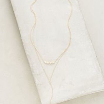Headlands Layer Necklace by Anthropologie in Gold Size: One Size Necklaces