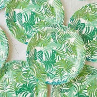 Botanical Paper Plates Pack