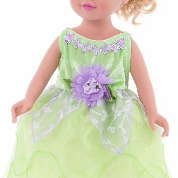 Little Adventures Tinkerbell Doll Dress