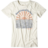 Women's Here Comes The Sun Cool Tee|Life is good