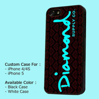 Diamond Supply Co Logo - iPhone 4 / 4s or iPhone 5 Case - Leave message for  Black or White Case