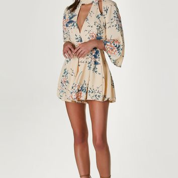 Spring Thing Printed Romper