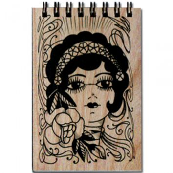 Wood Notepad Gypsy Small
