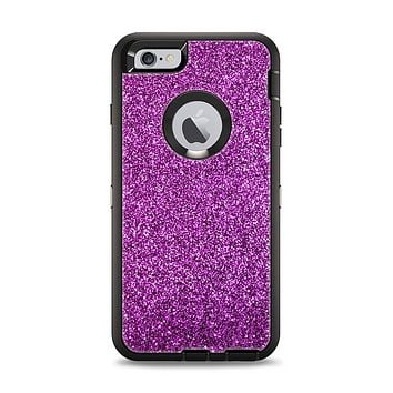The Purple Glitter Ultra Metallic Apple iPhone 6 Plus Otterbox Defender Case Skin Set