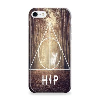 Harry Potter Hipster Deathly Hallows Expecto Patronum iPhone 6 | iPhone 6S Case