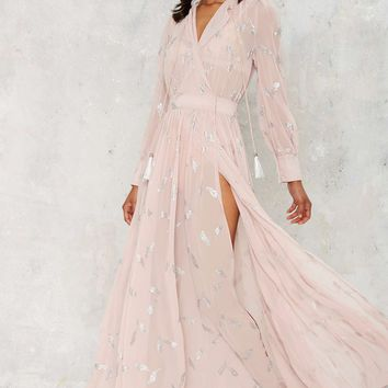 Nasty Gal Anjelica Maxi Dress