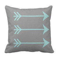 Trendy Arrow Throw Pillow