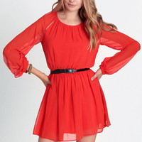 Paint The Town Belted Dress By Dylan & Rose - $66.00: ThreadSence, Women's Indie & Bohemian Clothing, Dresses, & Accessories