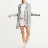 Womens Cozy Jersey Knit Cardigan | Womens New Arrivals | Abercrombie.com