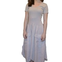 Inizio Linen Dress short sleeve (XL only, fits like L)
