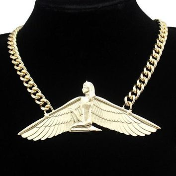 Beautiful Egyptian Goddess Isis Necklace