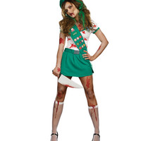 Ghoul Scout Zombie Adult Womens Costume