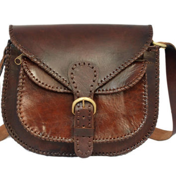 Women's Leather LEATHER WOMEN'S SADDLE BAG