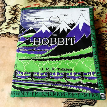 Hobbit Book Pillow