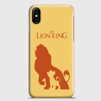 The Lion King iPhone X Case