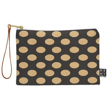 Allyson Johnson Glittering Gold Pouch