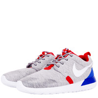 SHOES - KIDS - GRADE SCHOOL - BOYS - Nike Kids Roshe Run Grade School - Navy Heather Game Royal University Red - Buy Online at DTLR