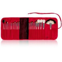 SHANY Cosmetics NY Collection Pro Brush Kit, 13 Ounce (22 Piece Natural ZGF Goat or Sable Bristles with Red Cotton Pouch)