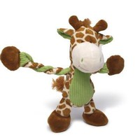 Pulleez Giraffe Dog Toy