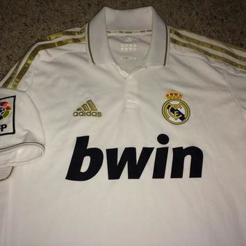 Sale!! Vintage Adidas REAL MADRID Fc Soccer Jersey RMFC Football Shirt