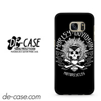 Harley Davidson Skull DEAL-5054 Samsung Phonecase Cover For Samsung Galaxy S7 / S7 Edge