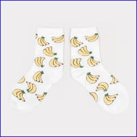 Banana socks from MaryJanenite