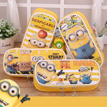Minions school pencil case