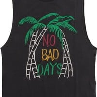 GLOBE NO BAD DAYS CUT OFF TANK