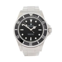 ROLEX SUBMARINER NON DATE STAINLESS STEEL WATCH 14060M W4754