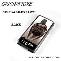 New Design Funny Hilarious Pug Life Parody Fans For Samsung Galaxy S5 Mini Case UY