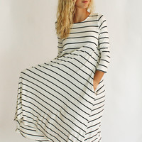 Down South Jersey Dress (White)