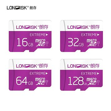 Londisk  Micro SD Card 8GB 16GB 32GB 64GB 128GB Class10 UHS-1 Flash Memory Card MicroSD TF  Card for Smartphone Pad Camera