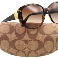 bb4ec629235fd Amazon.com  Coach HC8014 5001  13 L018 Sabrina Dark Tortoise Plastic  Sunglasses