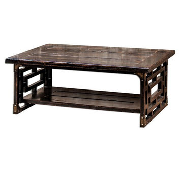 Uttermost Deron Wooden Coffee Table - 25600